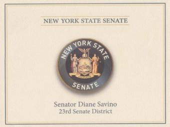 NY State Senate Award