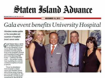 Gala Event Benefits University Hospital